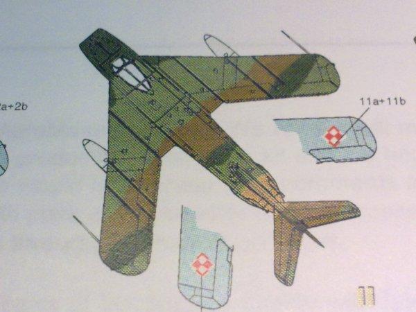 MiG17F POLONAIS 1/48 001