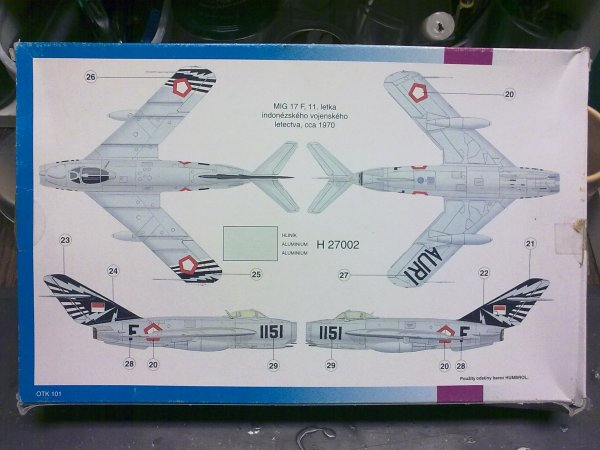 MiG17F INDONESIEN 1/48 001