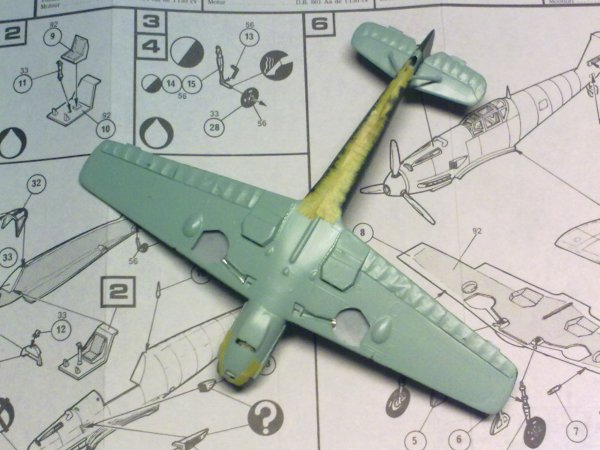 Me109E SLOVAQUE 1/72 002
