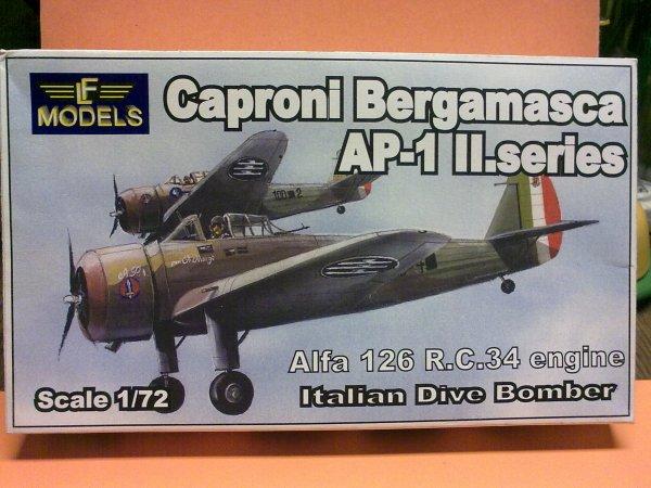 CAPRONI BERGAMASCA ITALIEN 1/72 001