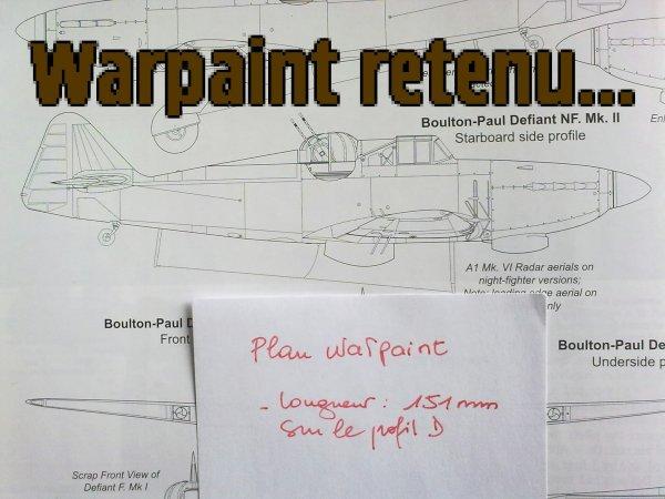 DEFIANT CHASSE DE NUIT RAF 1/72 008
