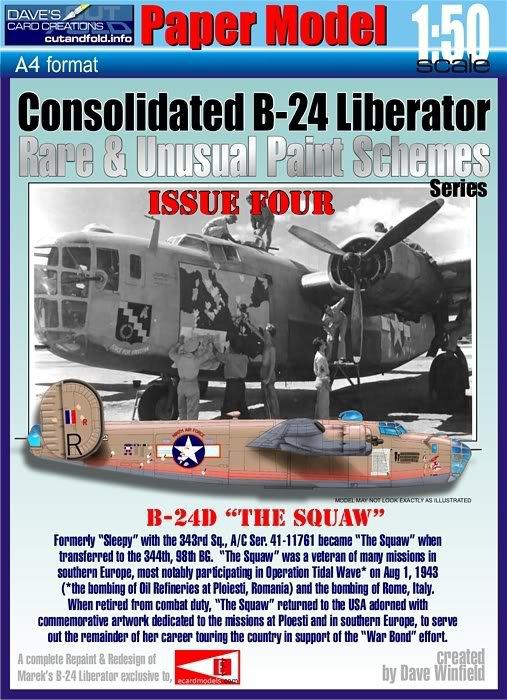 CONSOLIDATED B24D LIBERATOR PLOESTI 1/48 007