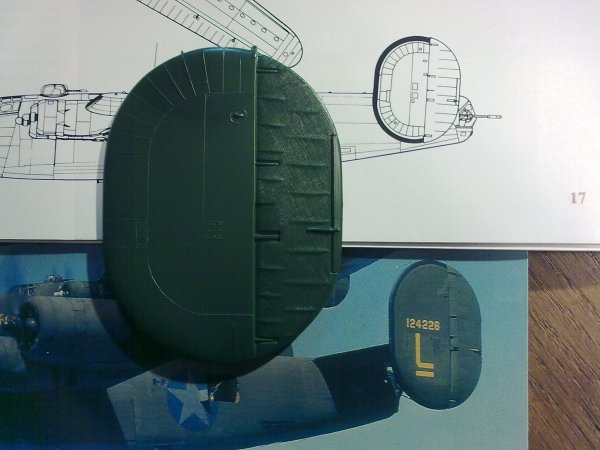 CONSOLIDATED B24D LIBERATOR PLOESTI 1/48 009