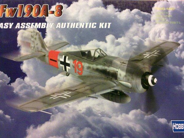 FW190 A8 BODENPLATTE 1945 1/72 001