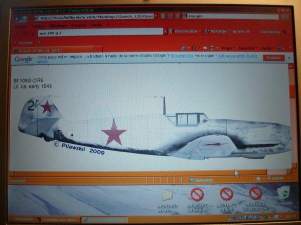 MESSERSCHMITT ME109G2 RUSSE 72° 004
