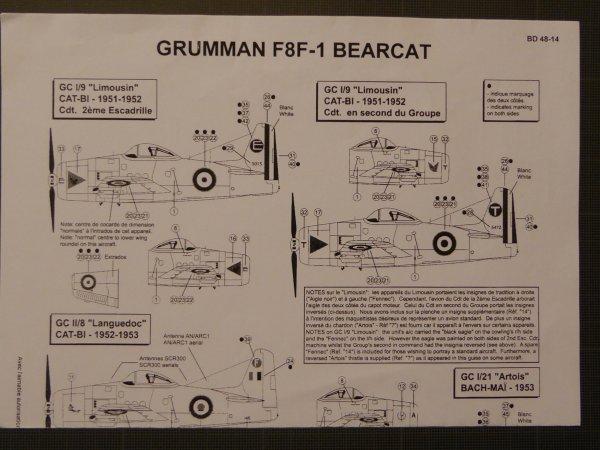F8F1 BEARCAT INDO 1951-52 001