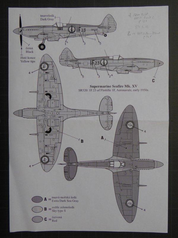 SEAFIRE MKXV AERONAVALE 001