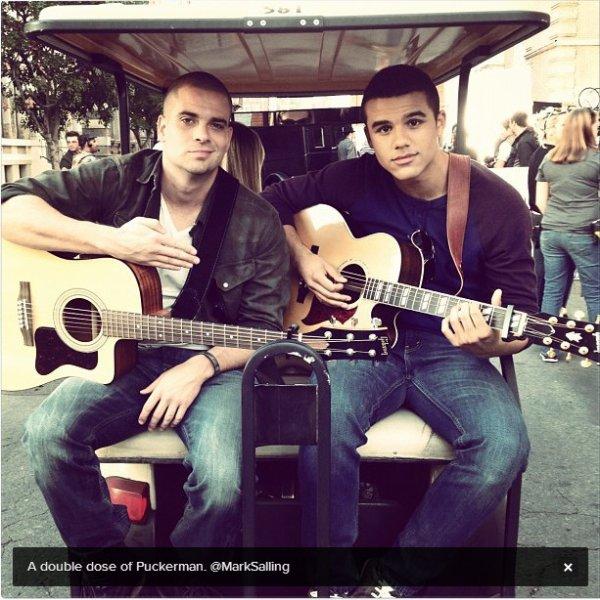 14.11.2012 = Mark était aux GQ Hommes de l'année 2012 + Tweet de Jacob Artist