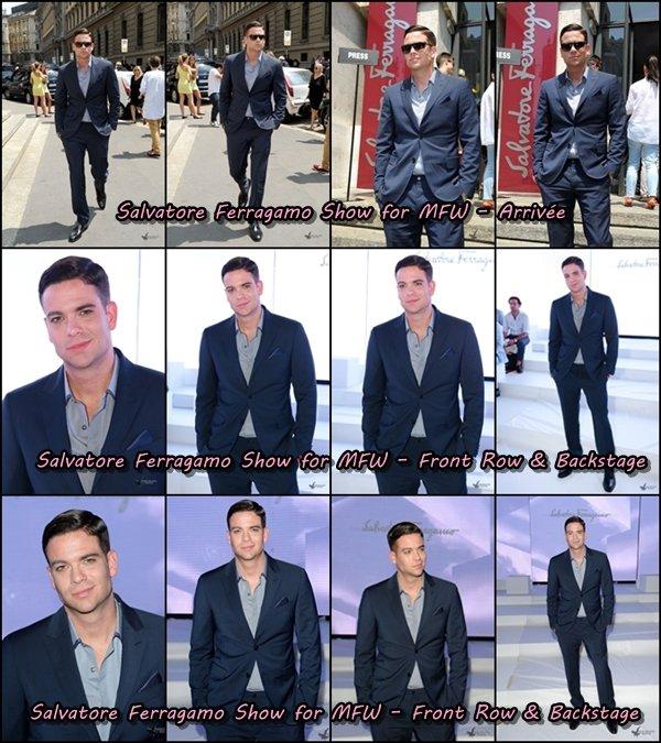 25 Juin 2013 : Mark est toujours à Milan