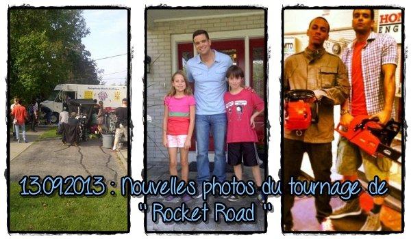13 Septembre 2013 : Nouvelles photos du Tournage.