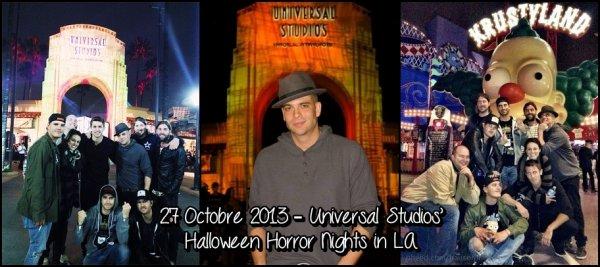 29 Octobre 2013 : La fête de Matthew Morrison + Fête à Universal Studios de L.A + Photos du Rocky Road + Tweets