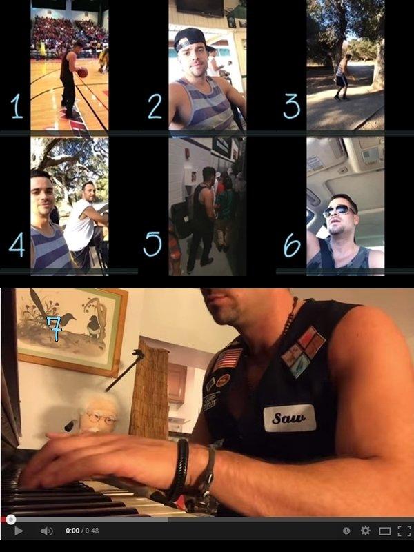 30 Août 2014 : Photos Instagram + Photo Snap Chat + Vidéos