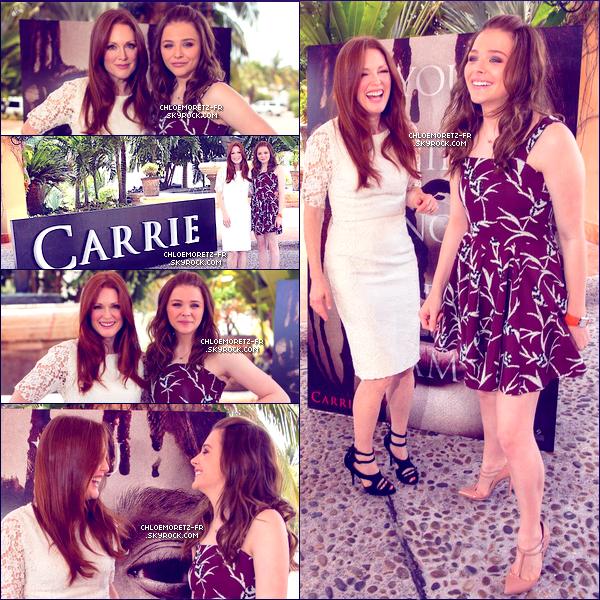 18 Avril 2013 : Chloë était au 5th Annual Summer Of Sunny pour la promotion de son nouveau film, Carrie, avec sa co-star Julianne.