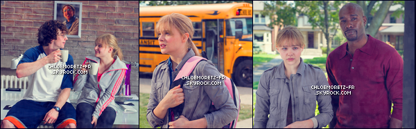 11 août 2013 : Voici des stills, deux affiches promo et deux interview concernant Kick-Ass 2 dont Chloë fait Hit-Girl.