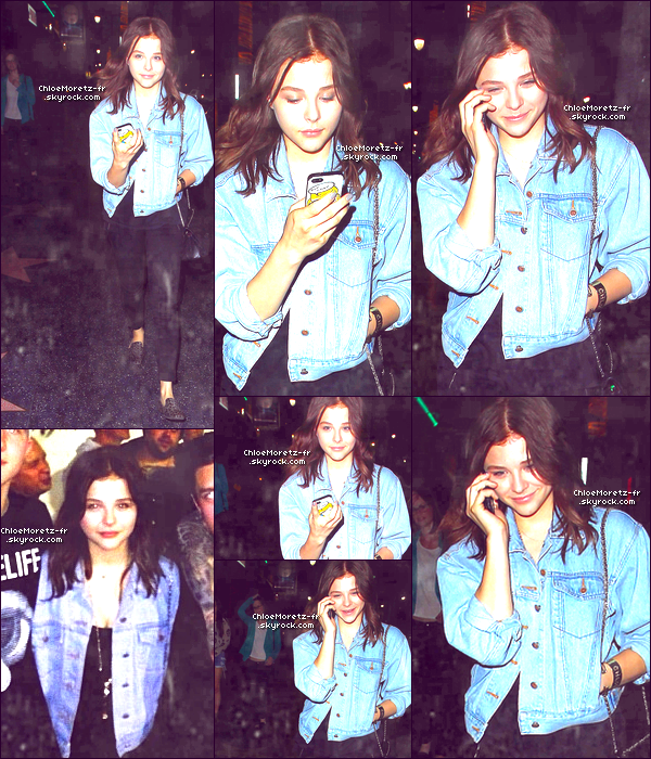 15\08\13 : Chloë a été aperçue au théâtre Fonda à Hollywood + Découvre 2 autres stills de Carrie