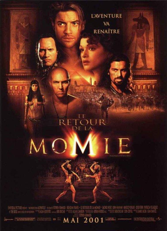 La momie - Le retour de la momie - La momie : la tombe de l'empereur dragon