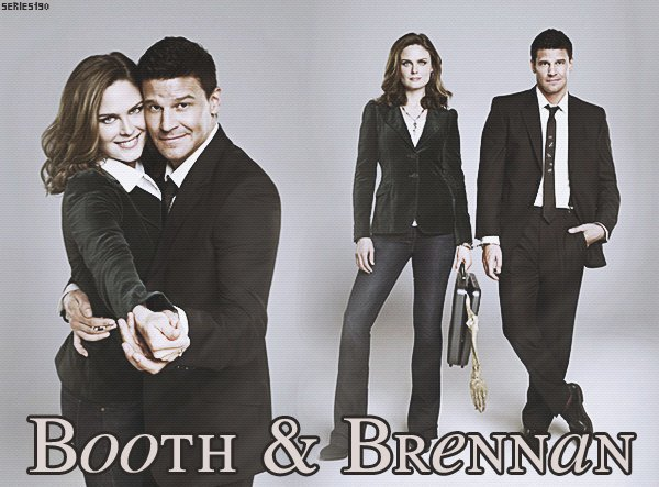 Booth et Brennan - Bones