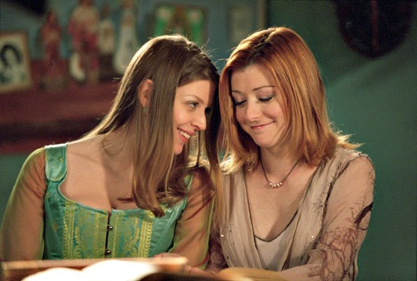 Willow et Tara (Buffy contre les vampires)
