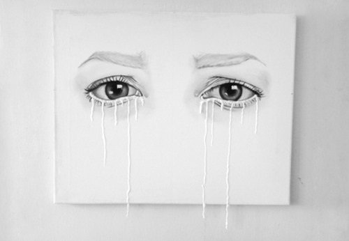 """""""Pleurer pour une fille c'est mignon, la larguer pour une autre c'est bidon."""""""