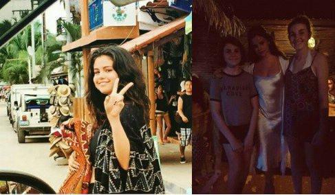Le 16 avril des fans de Selena gomez on pris des photos avec elle!