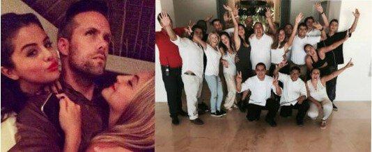 Le 18 avrils Raquelle Stevens et Justin Tranter ont posté des photos avec Selena sur leurs instagram