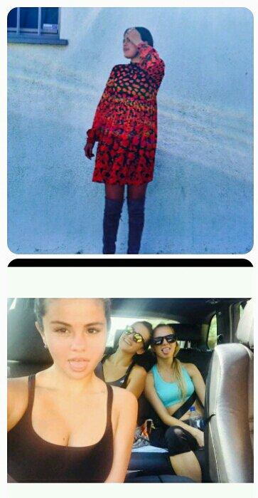 Selena gomez a posté deux photos sur son instagram