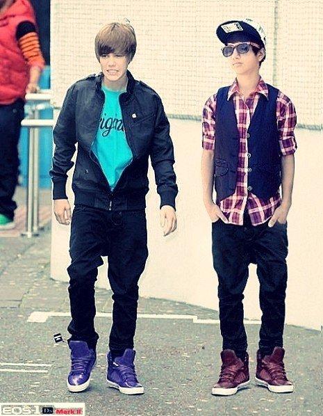 Lil west & justin Bieber