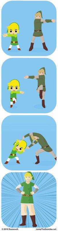 L'origine du Link Skyward Sword