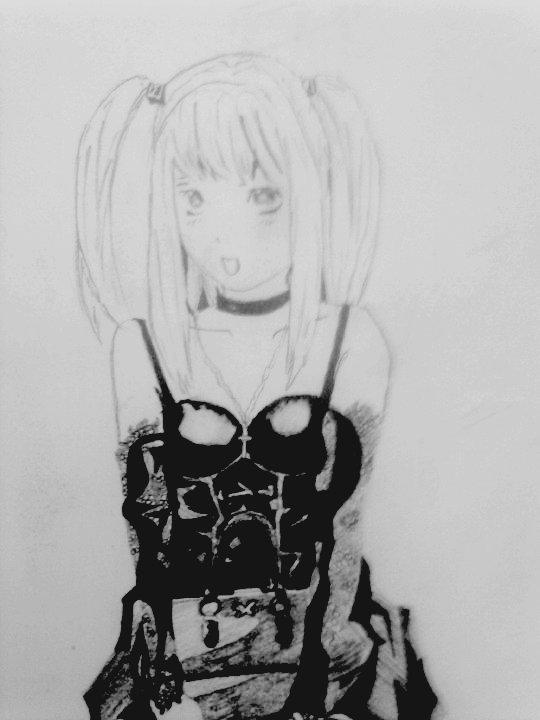Mon Scanner Fonctionne Enfin Et je peut enfin poster mon dessin J'espere qu'il vous plait !!!