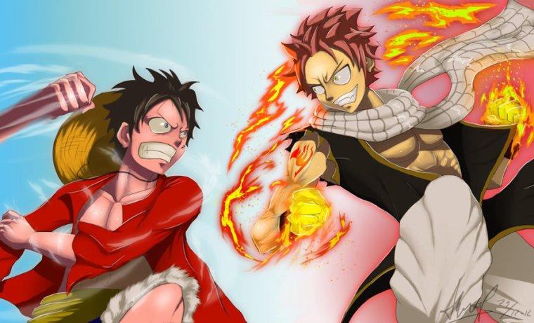 Luffy vs Natsu