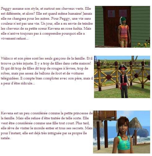 Les Sims 2 - La famille Azevedo
