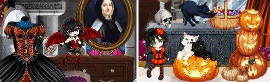 Halloween, c'est aussi sur Oh my dollz