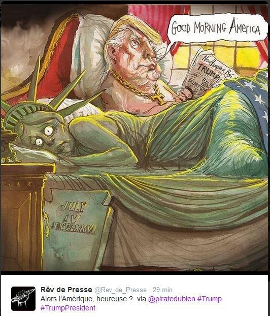 Le rêve américain (ou plutôt le cauchemar) - Donald Trump président...