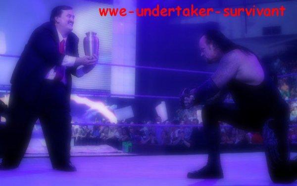 retour du manager de l'undertaker