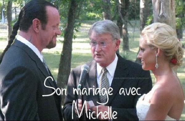 son mariage avec michelle