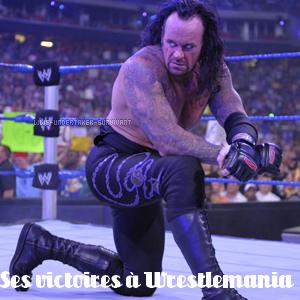 Ses victoires à Wrestlemania