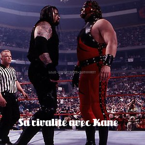 Sa rivalité avec Kane