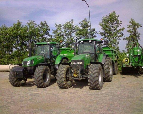 New Holland T6070 & New Holland TM 175 vert