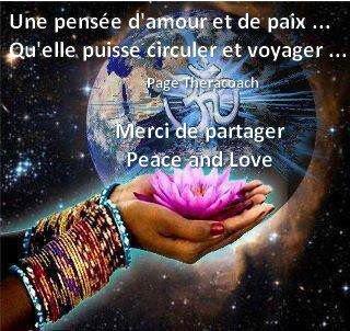 peace and love frères et soeurs du monde entier