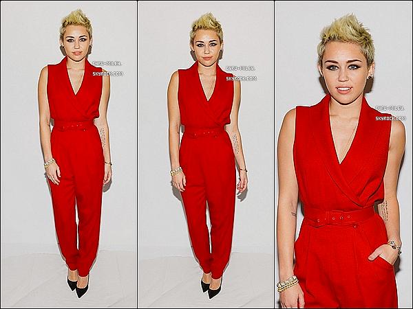 13/02/13  :  Mil' et Tish étaient au défilé de Rachel Zoe pour la Fashion Week à N-Y.
