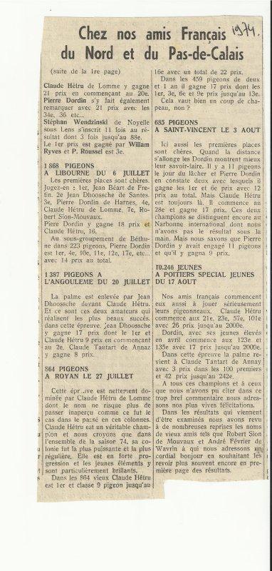 Nord Pas de Calais 1974!!!!!!!!!