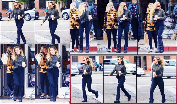 -13/10/2018- ─ Miley Cyrus a été photographiée, alors, qu'elle quittait le magasin « Hankie Babies », étant, à Studio City !C'est après quelques semaines sans nouvelle de la belle chanteuse que nous la retrouvons avec des amies. Concernant sa tenue, c'est un top de ma part.