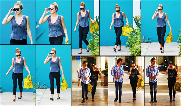 -29/02/2012- ─ Miley Cyrus a été photographiée, alors, qu'elle quittait son cours de pilates qui se situait dans Hollywood !Quelques jours plus tard, soit le 02/03, elle a été photographiée avec Cheyne Thomas à Studio City... Concernant ses tenues, c'est des tops de ma part !