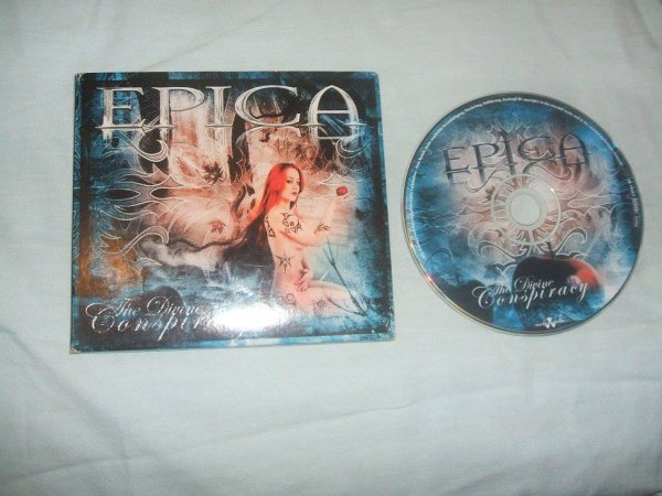 CD The Divine Conspiracy digipack