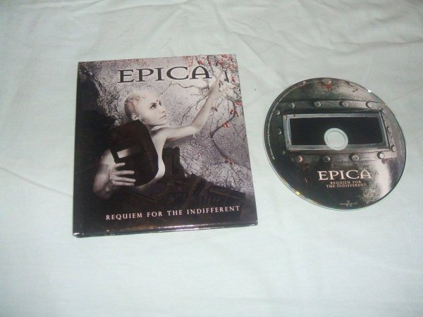​CD Requiem For The Indifferent Digibook