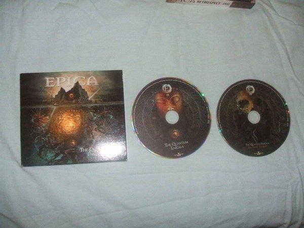 CD The Quantum Enigma Digipack