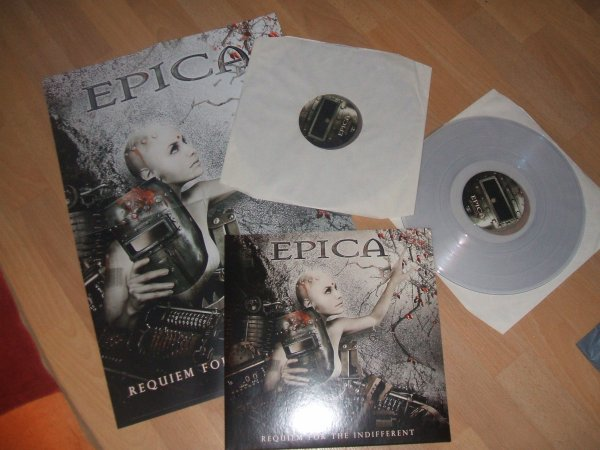 Vinyle Requiem for The Indifferent (Vinyle blanc)