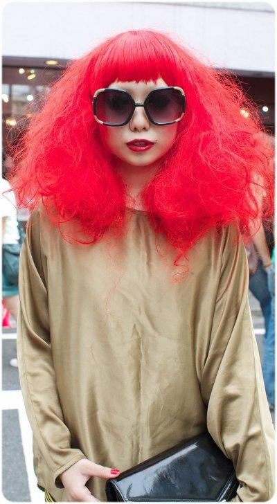 Chevelure Rouge Feu