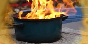 En cas d'incendie ou de feu de friteuse : Que faire ?