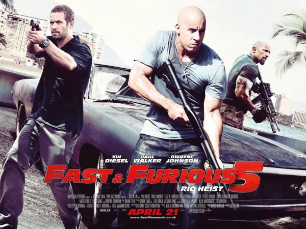 fast and furious 5 dans les salles